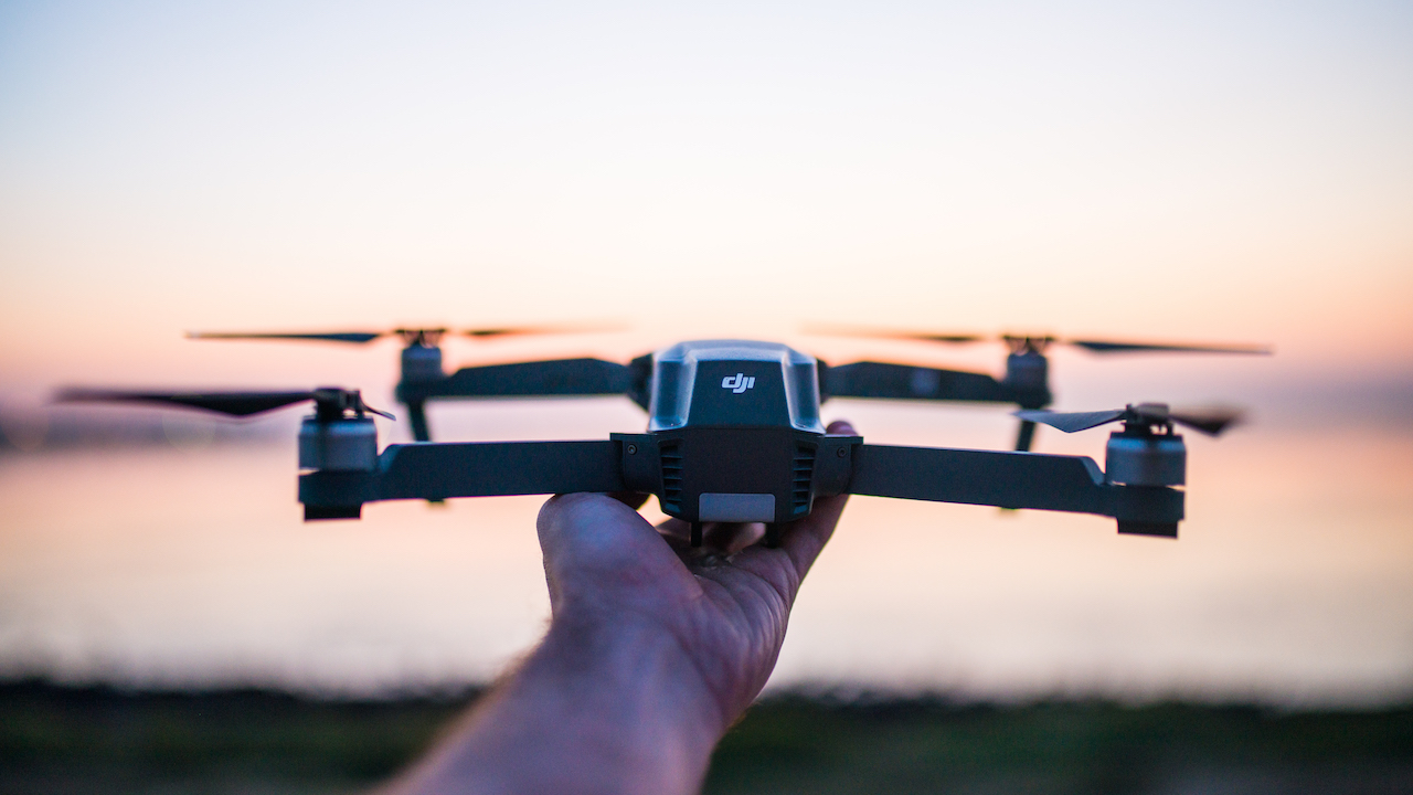 drone flug luftaufnahmen image media